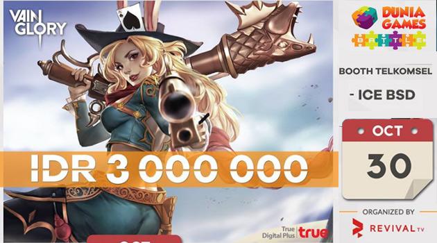 "Vain Glory ""Dunia Games Battle"" – Pekan Raya Indonesia"