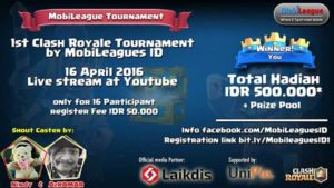 Mobileague Clash Royale Tournament Pertama