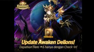 Awaken Dellons Hadir di Mobile RPG Seven Knights Indonesia