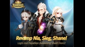 Seven Knights Meluncurkan Revamp Hero Holy Cross Crusaders