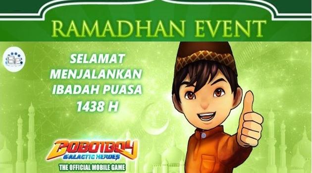 Casual RPG game BoBoiBoy: Galactic Heroes Mega Update Ramadhan