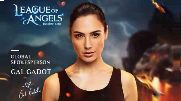 Gal Gadot, Sang Wonder Woman Mengajak Mu Bermain League of Angels – Paradise Land
