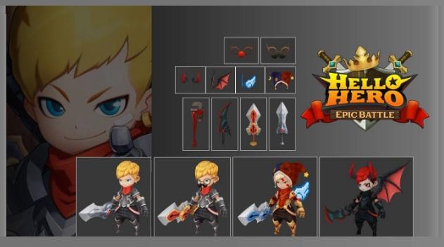 Sequel dari Hello Hero Siap Dirilis Oleh Fincon dengan Nama Hello Hero : Epic Battle