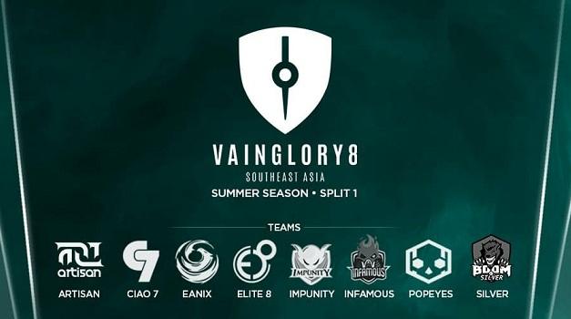 Elite8 eSport dan BOOM ID Silver Wakili Indonesia di Summer VG8 2017 Split 1