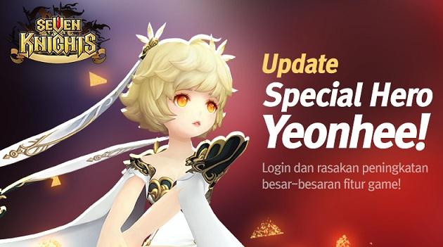 Special Hero Terbaru Yeonhee Siap Tuntaskan Perang di Mobile RPG Seven Knights