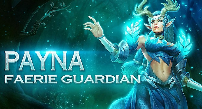 Mobile Arena Hero Spotlight : Payna Sang Faerie Guardians