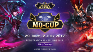 512 Team MOBA Akan Bertanding Demi Tiket ke Throne of Glory di VIETNAM