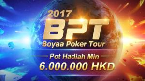 Boyaa Menggelar Tournament Poker Texas International dengan hadiah lebih dari 10 Milyar