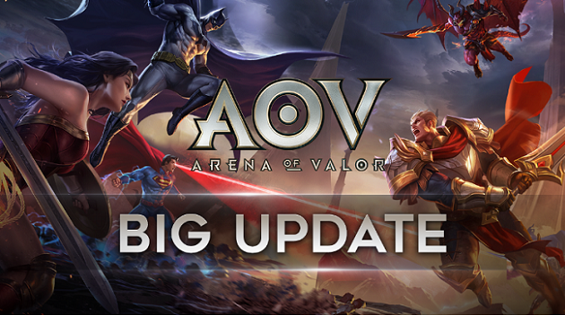 BIG UPDATE Garena AOV (Arena of Valor)