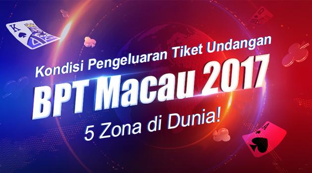 Memasuki Bulan ke-2, para jagoan dari seluruh dunia mulai muncul di  BPT Macau 2017