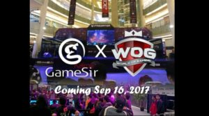 GameSir Hadir di World of Gaming Yogyakarta 16-17 September 2017