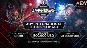 Kompetisi Mobile eSport Terbesar Telah Tiba! AOV International Championship 2017