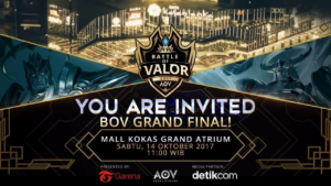 Ini Dia Rundown acara The Grand Finals of Battle of Valor – Turnamen Nasional Pertama AoV Berhadiah 1 Miliar