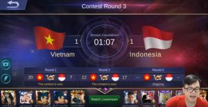 Benarkah Top Global Vietnam Cheat di Arena kontes Mobile Legends Melawan Indonesia