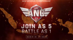 Dicari! Juara Nasional Baru di AOV National Championship 2018