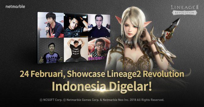 NetmarbleMemperkenalkanLineage2 Revolution Indonesia Melalui Event Showcase