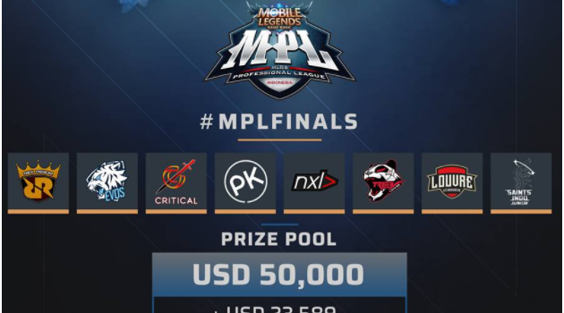 8 Team Pro Mobile Legends bertanding untuk 1 Miliar di Final MPL 2018