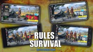 Tips dan Trick Rules of Survival : Mengenal SMG dan Scope
