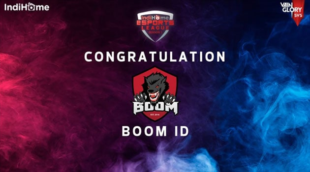 Boom ID berhasil mengalahkan Elite 8, Merebut gelar juara Vainglory pertama di Indonesia