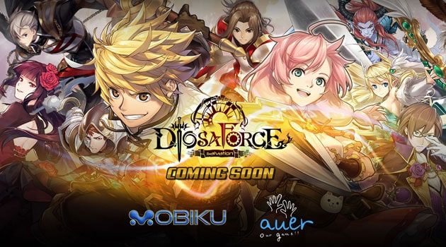 Mobiku Siap Rilis Diosa Force Mobile Game Turn Based RPG dari Taiwan