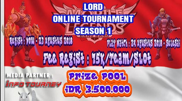 [Turnamen]Online Lord Turnamen Mobile Legends Segera Dimulai