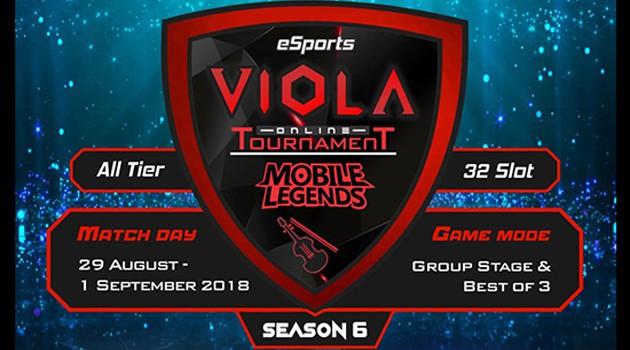 VIOLA eSports Gelar Turnamen Mobile Legends SEASON 6