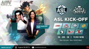 Kick off AOV Star League Season 2 Pada Hari Minggu Di Neo SOHO Jakarta