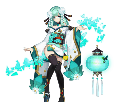 Mengenal Aoandon, SSR Shikigami Onmyoji yang Cantik!