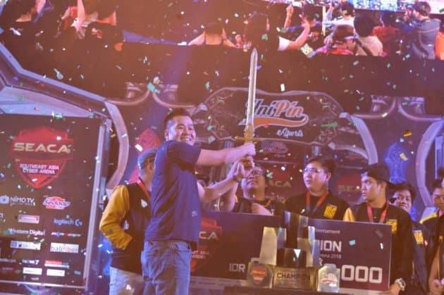 Ini dia Pemenang Mobile Legends Bang Bang di UNIPIN SEACA 2018