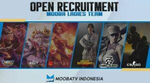 Punya Ladies Team untuk Esport? Bergabunglah bersama MoobaTV