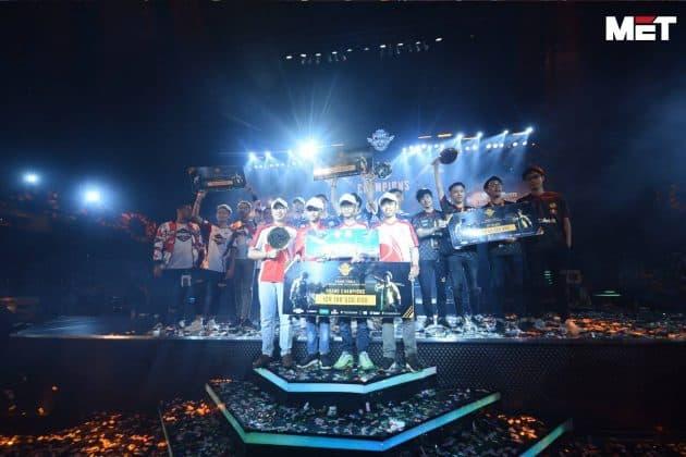 Ini Dia Para Pemenang PUBG Mobile Indonesia National Championship 2018