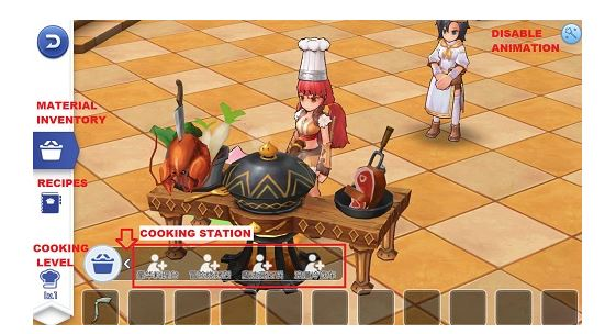 cooking Ragnarok M Eternal Love