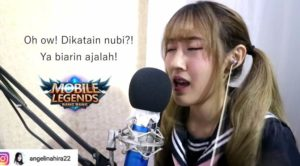 Ladies Gamer ini Nyanyikan Lagu Parodi Mobile Legends dari Momoland