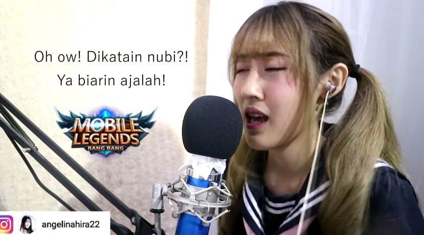 Ladies Gamer ini Nyanyikan Lagu Parodi Mobile Legends dari Momoland