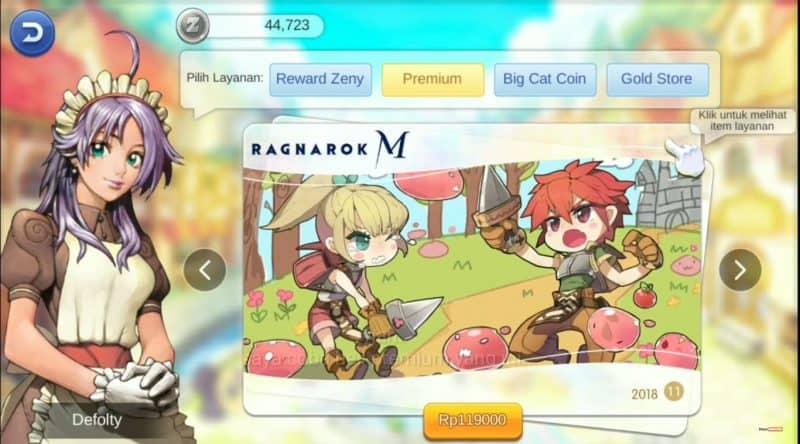 Apa Fungsi Premium Monthly Card di Ragnarok M Eternal Love