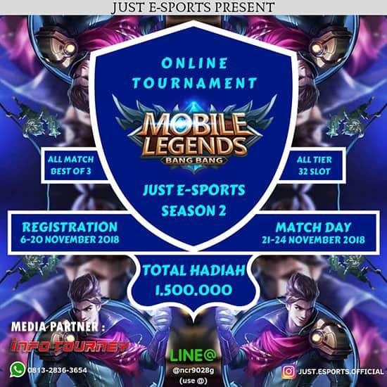turnamen-ml-mole-mobile-legends-just-esports-season-2-november-2018-poster
