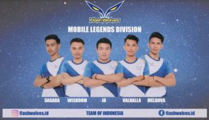 Flash Wolves membentuk tim Mobile Legends  pertamanya di Indonesia!