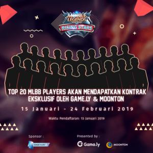 Game.ly x Mobile Legends: BangBang: Main Game Dikontrak Jadi Artis? Kamu Juga Bisa!