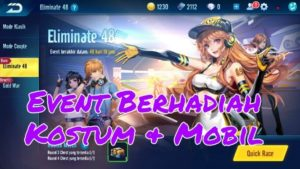 Event Berhadiah Eliminate 48 Garena Speed Drifters