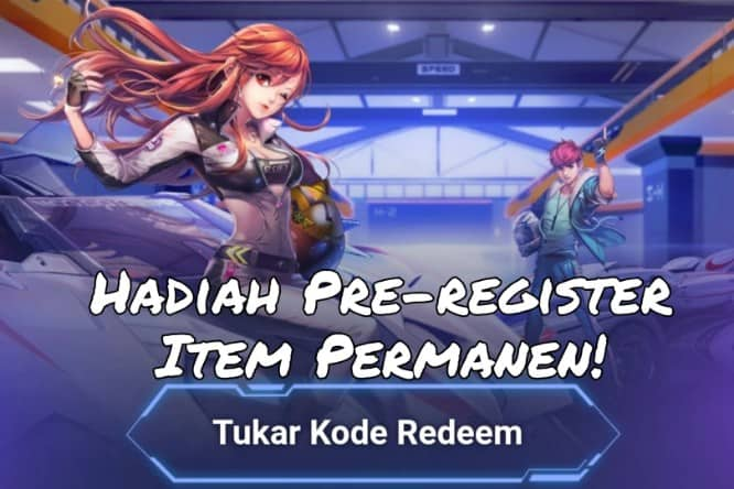 Cara Redeem Hadiah Pre-Register Garena Speed Drifters