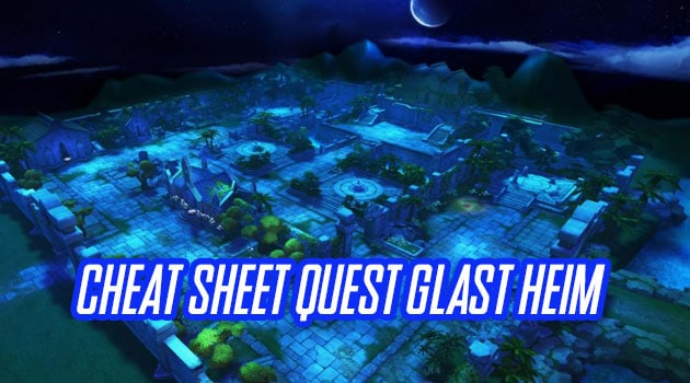Cheat Sheet Kunci Jawaban Pertanyaan Quest Glastheim