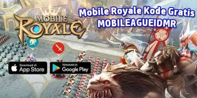 Mobileague dan Mobile Royale Bagikan Kode Gratis