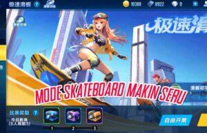 Mode Baru Balapan Pakai Skateboard di Speed Drifters