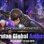 Mantul Gan, The War of Genesis Rekrut Global Ambassador, Auto Daftar