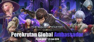 Mantul Gan, The War of Genesis Rekrut Global Ambassador, Auto Daftar