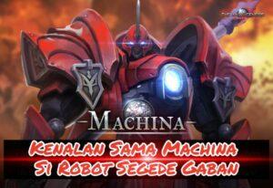Perkenalan Machina di Game The War of Genesis